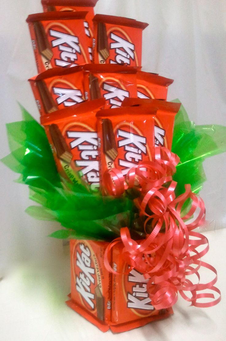 All Kit Kat Candy Bouquet By Heartfeltcandygifts On Etsy