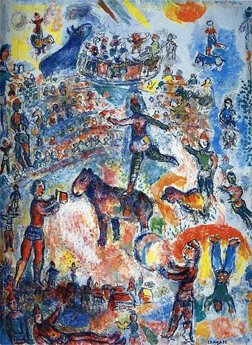 Chagall, Marc (1887-1985) - 1984 Great Circus