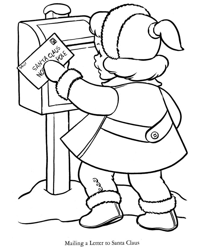 471 best images about Coloring pages Christmas on Pinterest