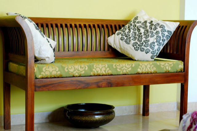 Fabindia bench splendid indian decor pinterest home for Indian foyer decorations