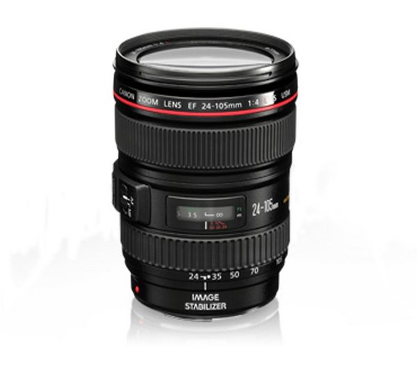 EF 24-105 mm f/4L USM IS Standard Zoom Lens one day