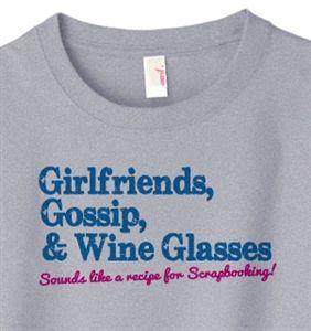 Share and Save an Extra 10% off Girlfriends Gossip Scrapbook T-Shirt