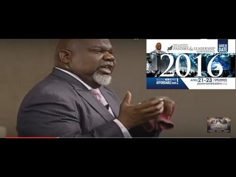 The Grace To Be Grounded NYE || Fit For The Fight || Bishop Td Jakes 201...