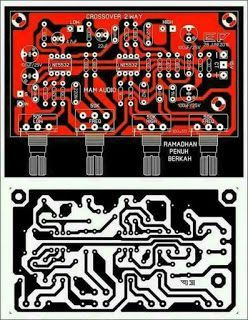 PCB Layout Design Crossover 2 Way