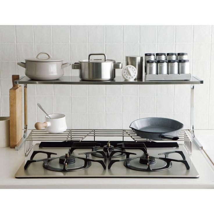 商品が見つかりません ディノス コンロ周り 収納 狭いキッチン 収納 キッチン 収納 シンク下