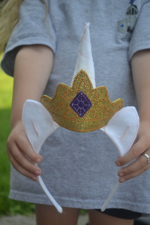 Princess Celestia head piece by RayasBowtique on Etsy
