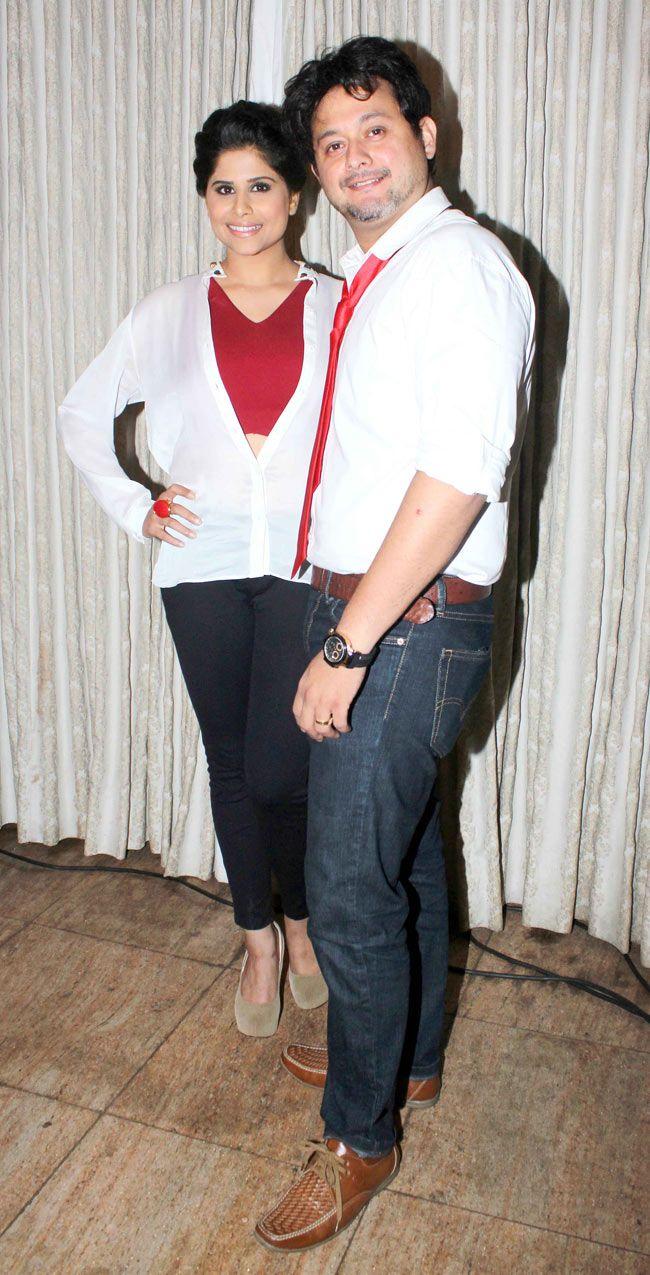 Sai Tamhankar and Swapnil Joshi at music launch of Marathi film 'Pyar Vali Love Story' #Style #Bollywood #Fashion #Beauty #Marathi