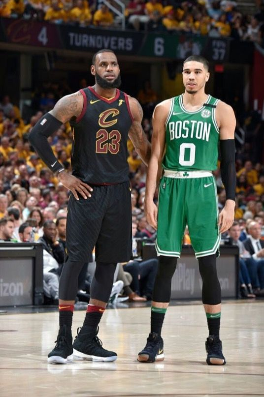 new product bafd4 b4810 The GOAT Jayson Tatum standing next to an over sized baby ...