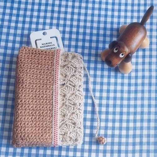 Patrones Crochet: Estuche Neceser Crochet Patron
