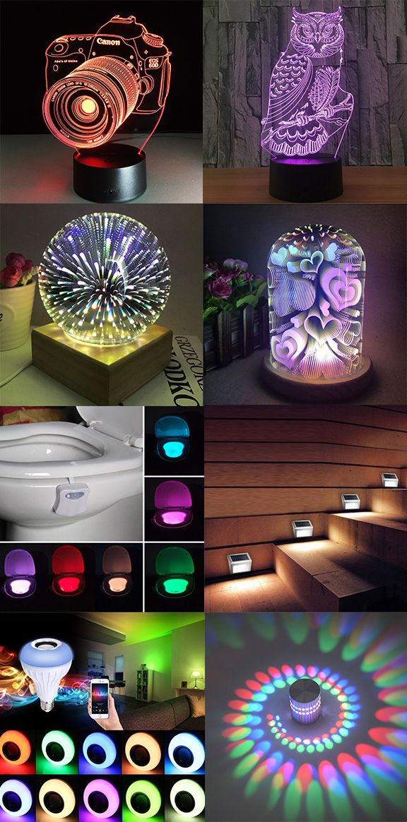How To Decorate Your Living Room 50 Best Led Night Light To Shop