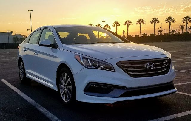Vehicle Review: 2017 Hyundai Sonata Sport - Cars Land, Food Adventures and the Pizza Planet Truck!