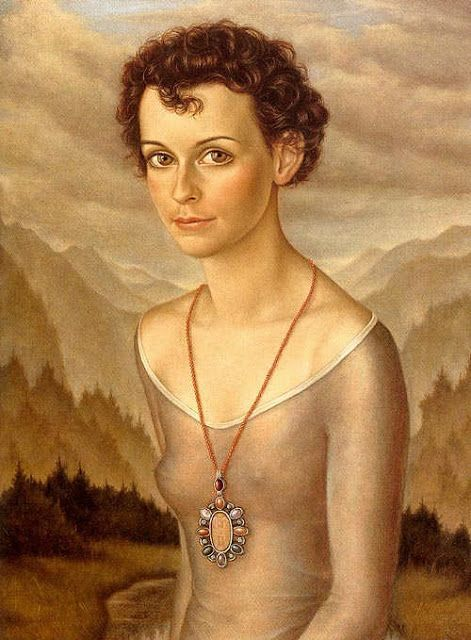 'Bettina' , Christian Schad, 1942/ The New Objectivity (in German: Neue Sachlichkeit) was a movement in German art that arose during the 1920s as a reaction against expressionism. The term was coined by Gustav Friedrich Hartlaub, the director of the...