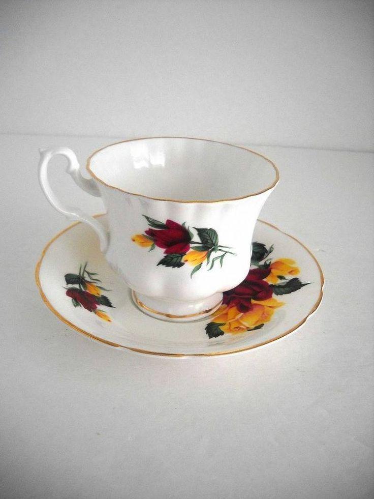 Hamilton Fine Bone China Made In England Tea Cup And