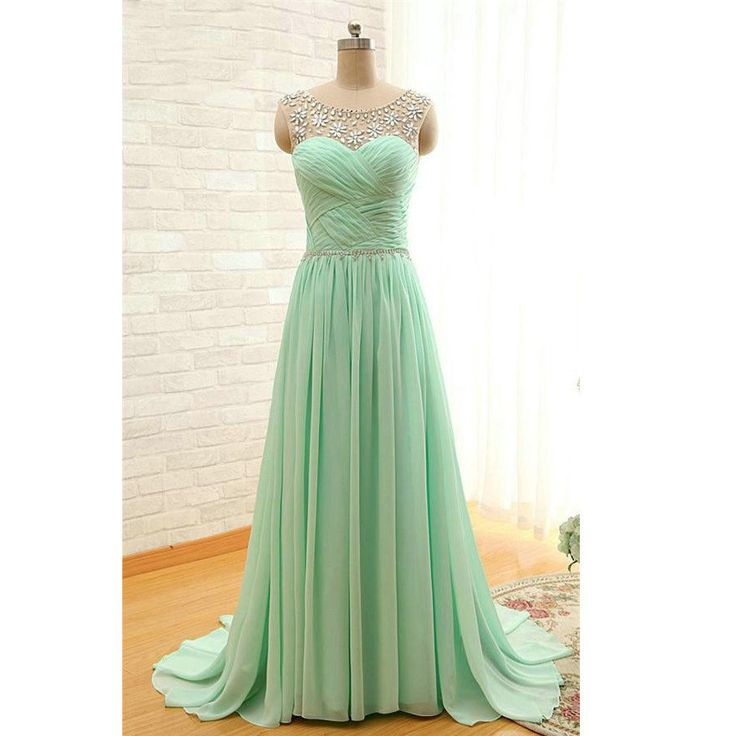 Chiffon Prom Dresses Floor Length Pst0378 on Luulla