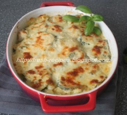 Lasagna-with-chicken-and-Zucchini