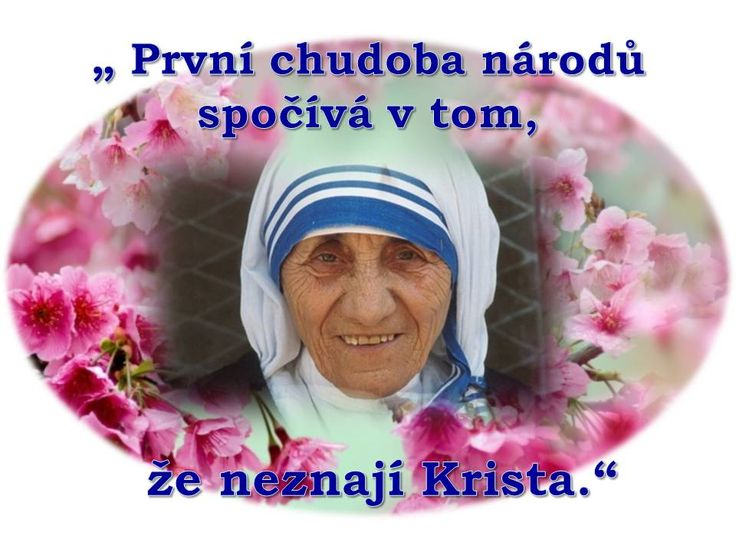 svatá Matka Tereza