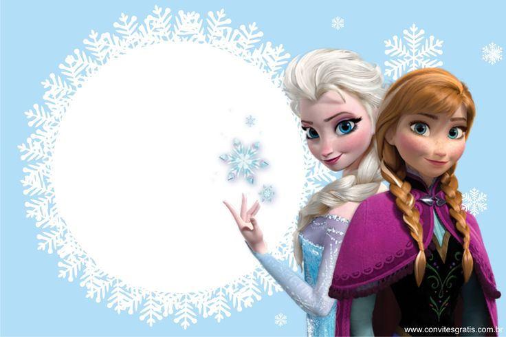 Convite Frozen                                                                                                                                                                                 Mais