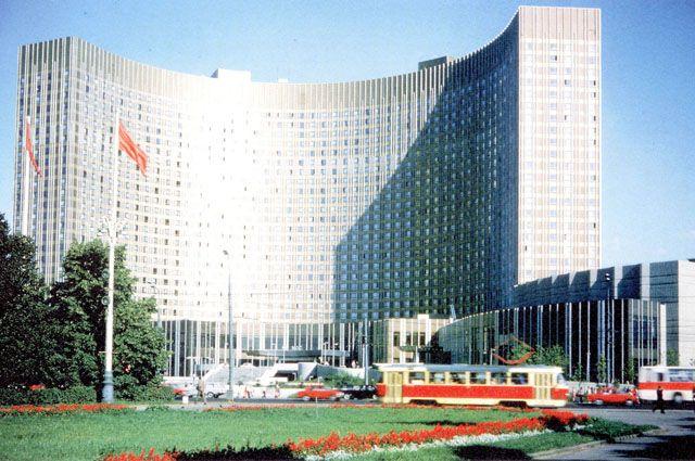 Гостиница Космос,Москва,2014 -2015 год
