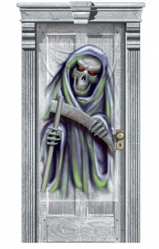 Dekoracja drzwi ŻNIWIARZ