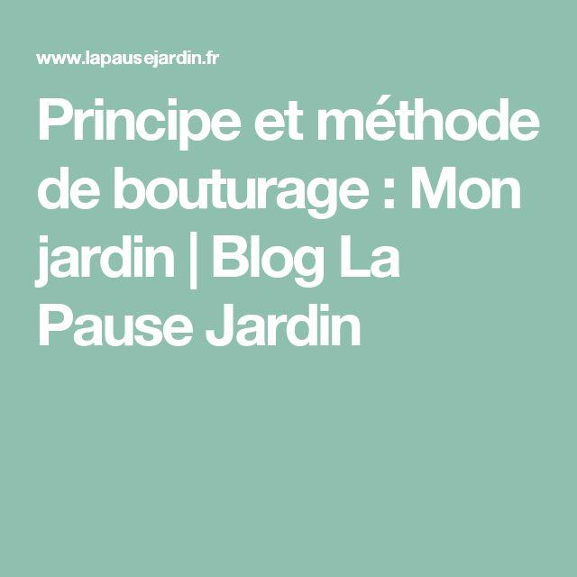 Principe et méthode de bouturage : Mon jardin | Blog La Pause Jardin