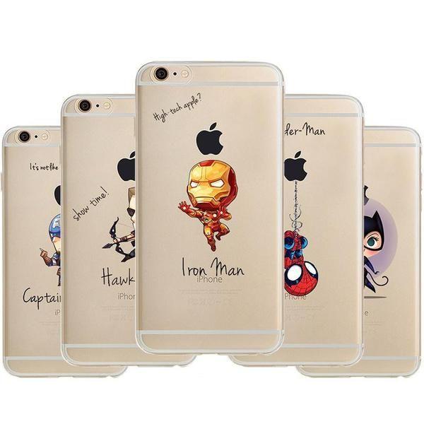 Super Heroes Artistic iPhone Case