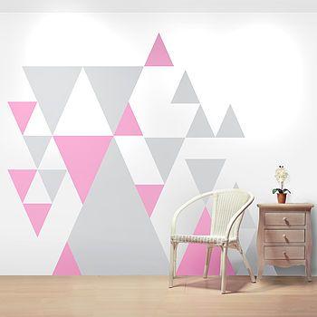 Wall Stickers   Geometric Pattern
