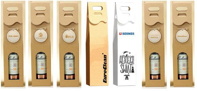 Opakowania na alkohole z logo