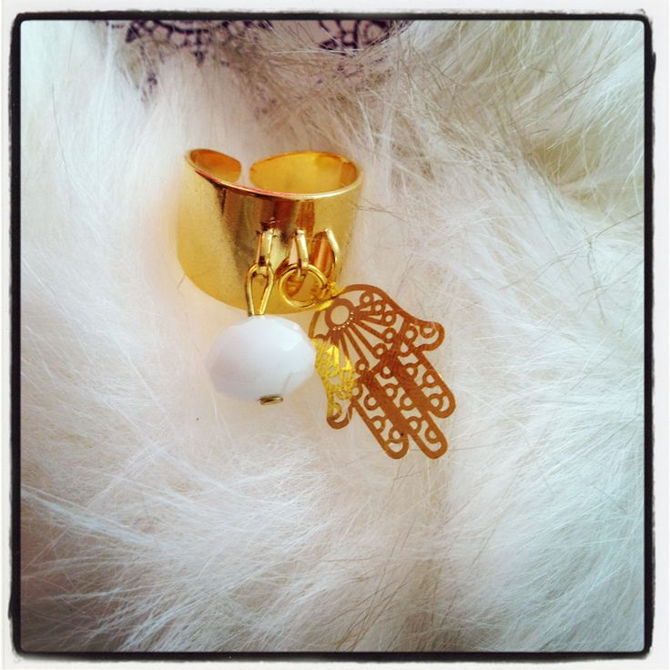 #ring #handmade #hamsa layal layal glyfada