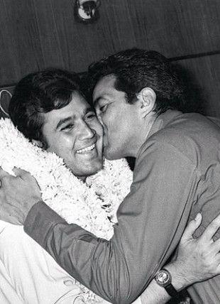 Dharmendra and Rajesh