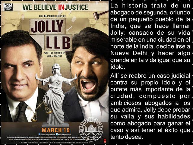 Cine Bollywood Colombia: Jolly LLB