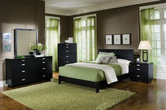 The Other Zen Green And Black Decor For The Master Bedroom Hmmm