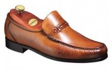 Barker Parker Mens Leather Moccasin slip on shoe http://www.robinsonsshoes.com/mens-shoes/barker-parker.html