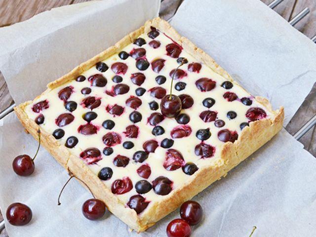 Krémes, gyümölcsös pite - Receptek   Ízes Élet - Gasztronómia a mindennapokra