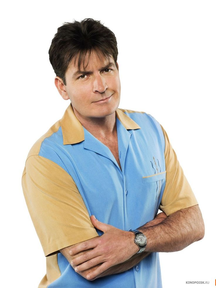 Charlie Harper/ Two and a Half Men - wears a Rolex Yachtmaster luxury watch
