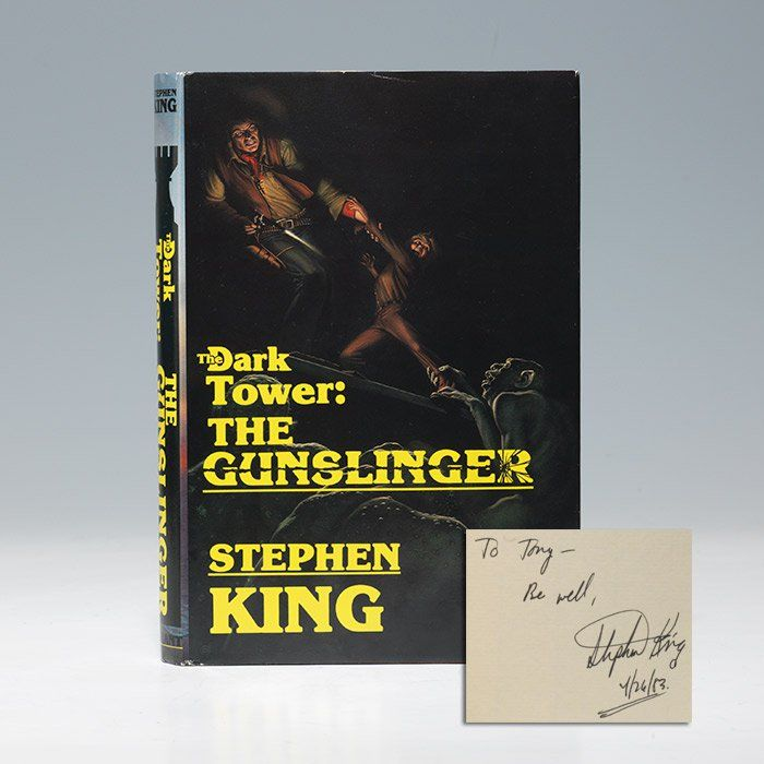 Stephen King - Dark Tower: The Gunslinger - First Edition - Signed | Bauman Rare Books