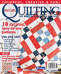 McCall's Quilting July/August 2011 Digital Issue from QuiltandSewShop.com