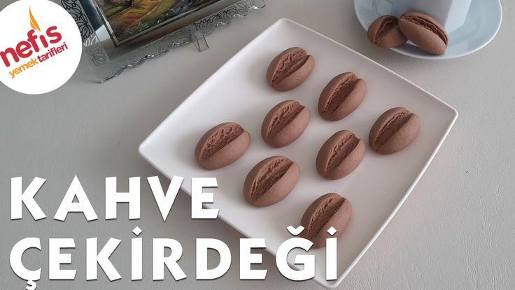 Kahve Çekirdeği Kurabiye Tarifi (Coffee Bean Cookies). Video tutorial. Recipe is on their website.