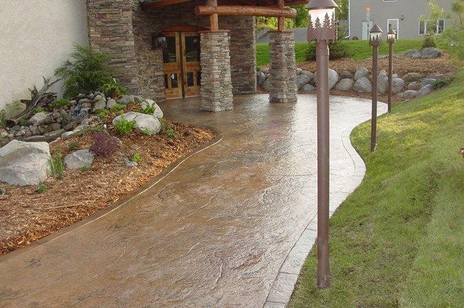 17 best images about concrete walkways on pinterest for Removing concrete walkway