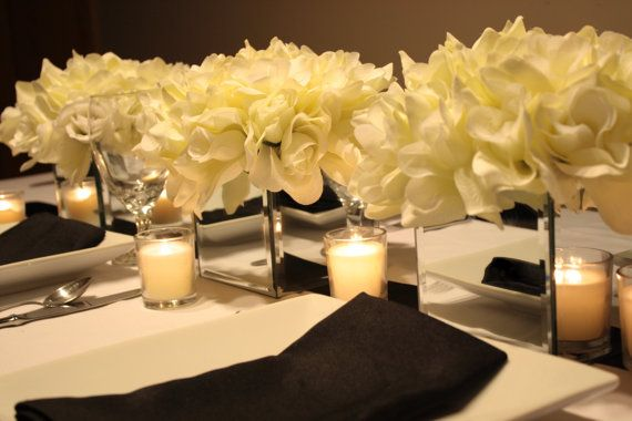 DIY Mirrored Centerpiece How To by DivineTablescapeDiva, $4.50