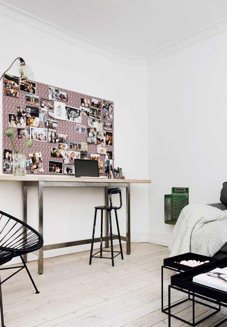Lav dit eget hjemmekontor i stuen