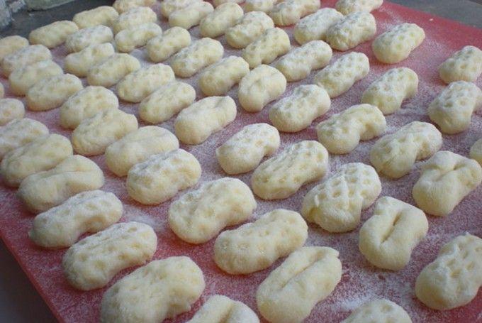 Domácí gnocchi (knedlíky)