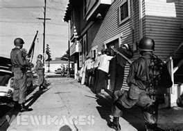 The Watts Riot was basically a war zone and Martial Law was declared.