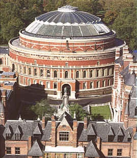 The Royal Albert Hall, London: spectacular venue, great acoustics, fab seating, & entry-exit doors all around (like a coliseum) so it fills & empties quickly.  Check out their website, & book tickets for something when you're next in London.