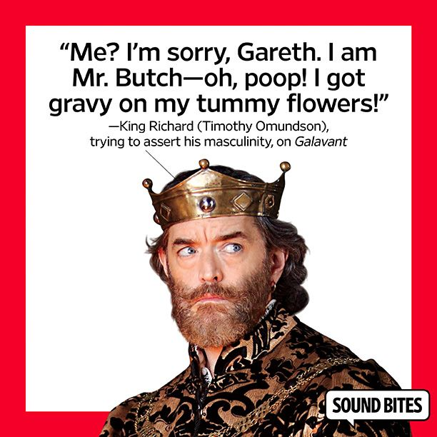 King Richard (Timothy Omundson) on 'Galavant'