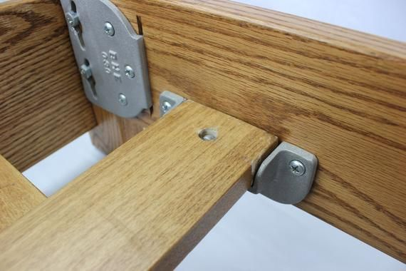 Locking Safety Bed Rail Brackets With Images Safety Bed Wood