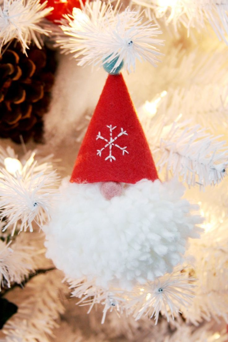 Cute gnomes for decorating a Christmas tree or decor 18