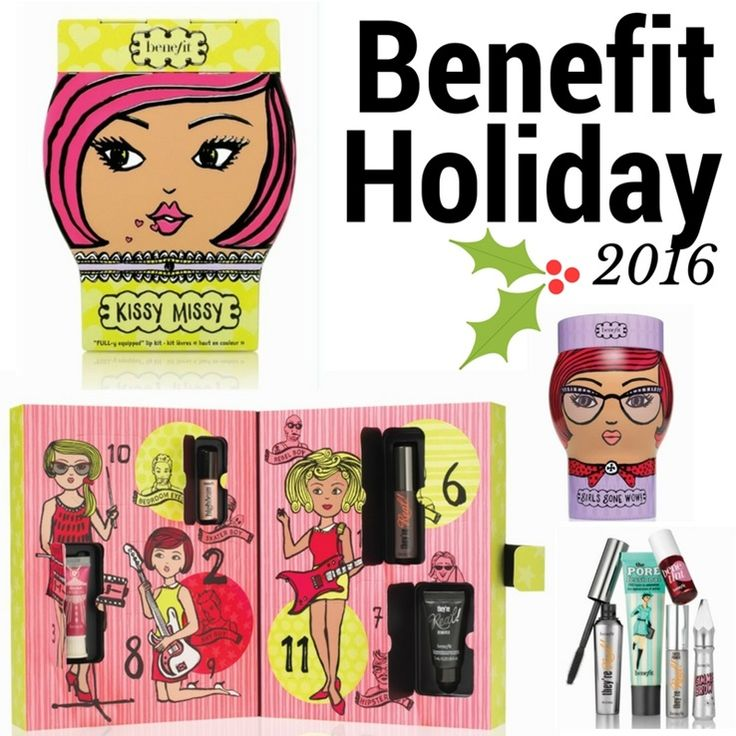 Benefit holiday 2016 makeup collection sneak peek