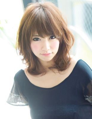 Cute Medium Hair style
