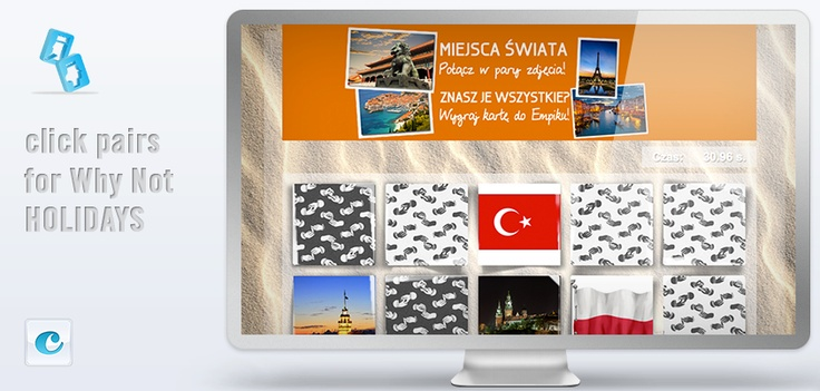#ClickPairs for #Why Not Holidays by #ClickApps