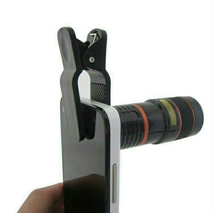 Lensa Telescope untuk HP & Tablet